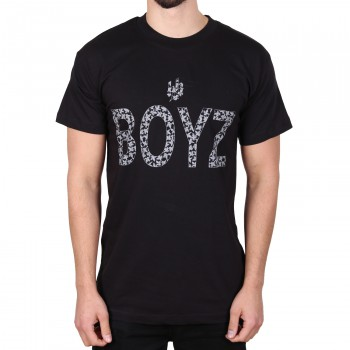 Hoodboyz Bandana Style Koszulka czarny