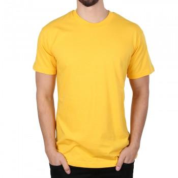 Hoodboyz Basic Plain Koszulka ?żółty