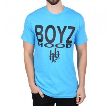 Hoodboyz Big Logo Koszulka turkusowy czarny