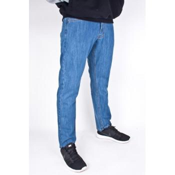 Spodnie Jeans Moro Sport Straight Mini Paris Jasne Niebieskie