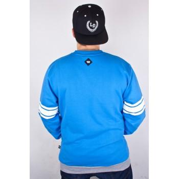 Bluza Patriotic Shoulder Klasyk Szara/Niebieska