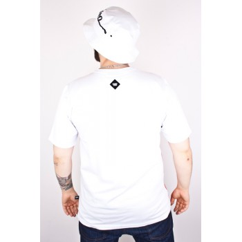 Koszulka Patriotic Tag Pion Biała