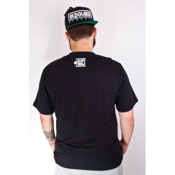 Koszulka El Polako Dot czarna