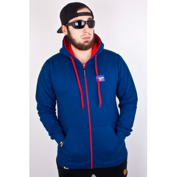 Hit Bluza Patriotic Base Zip Granatowa