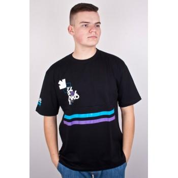 Koszulka El Polako Number czarna