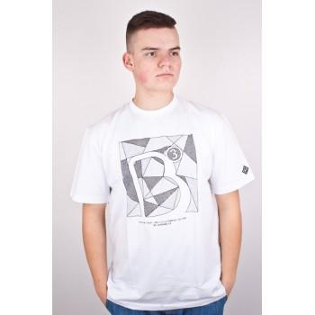 Koszulka B3 Befree Abstract biała