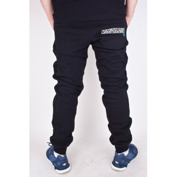 Spodnie Dresowe El Polako Number czarne