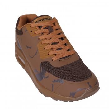 Hoodboyz Seamless Camo Pan Trampki niskie camouflage brązowy