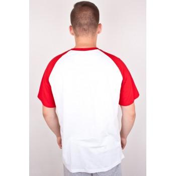 T-SHIRT MORO SPORT BASEBALL ACADEMIC WHITE RED