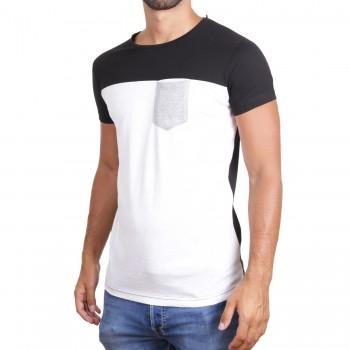 Hoodboyz Koszulka biały czarny