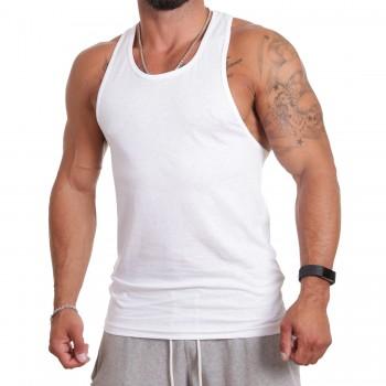 Ablanche Koszulka na szelkach biały