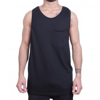 Ablanche Basic Pocket Koszulka na szelkach czarny