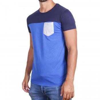 Hoodboyz Koszulka niebieski ciemny niebieski