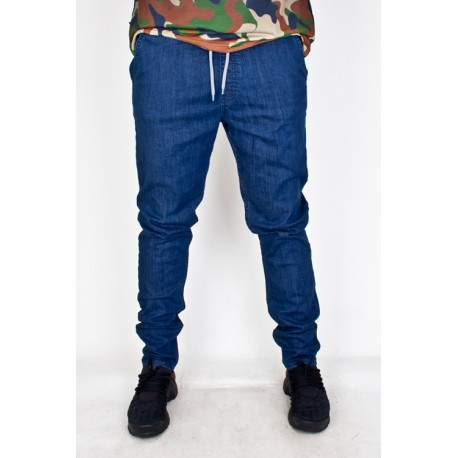 SPODNIE SSG STRAIGHT FIT BASIC17 DARK BLUE