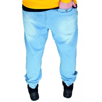 SPODNIE JOGGER STOPROCENT CLASSIC JEANS BLUE