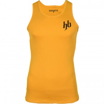 Hoodboyz Basic Logo Koszulka na szelkach żółty