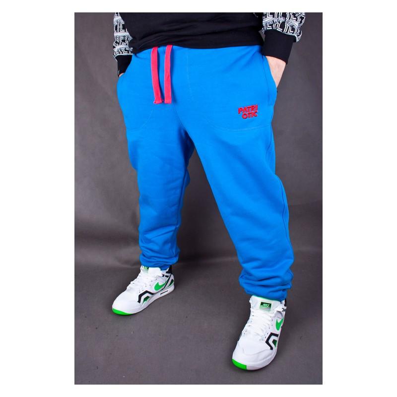 SPODNIE DRESOWE PATRIOTIC CLS LTD. NIEBIESKIE Supreme sklep streetwear, hip hop shop oraz rapshop
