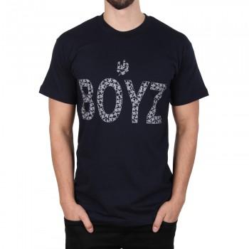 Hoodboyz Bandana Style Koszulka ciemny niebieski