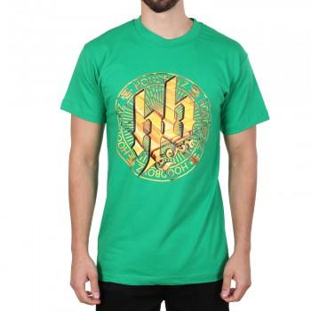 Hoodboyz Ultra Gold Logo Koszulka zielony