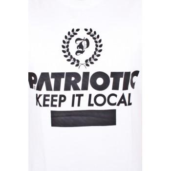 Koszulka Patriotic P Laur Biała
