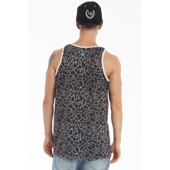 Tank Top Lucky Dice Dry Land Czarny