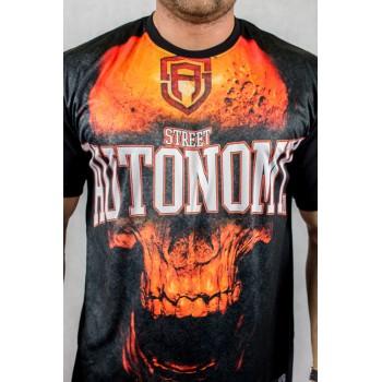 Koszulka Street Autonomy Skull Sub czarna