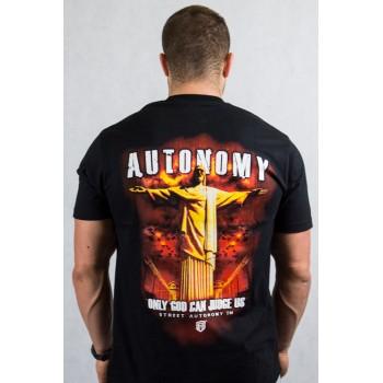 Koszulka Street Autonomy Only God czarna