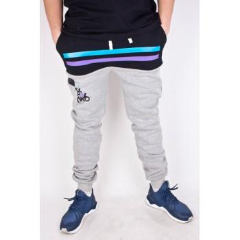 Spodnie Dresowe El Polako Number szare