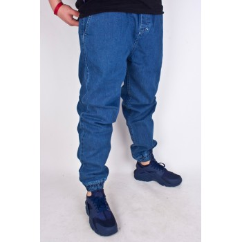 SPODNIE JOGGER MASS DNM DROP BLUE