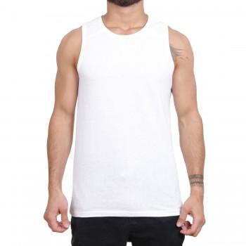 Ablanche Basic Ripp Koszulka na szelkach biały