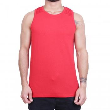 Ablanche Basic Ripp Koszulka na szelkach czerwony