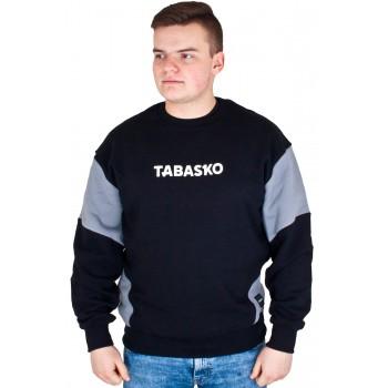 BLUZA CREWNECK TABASKO SLEEVES CZARNA