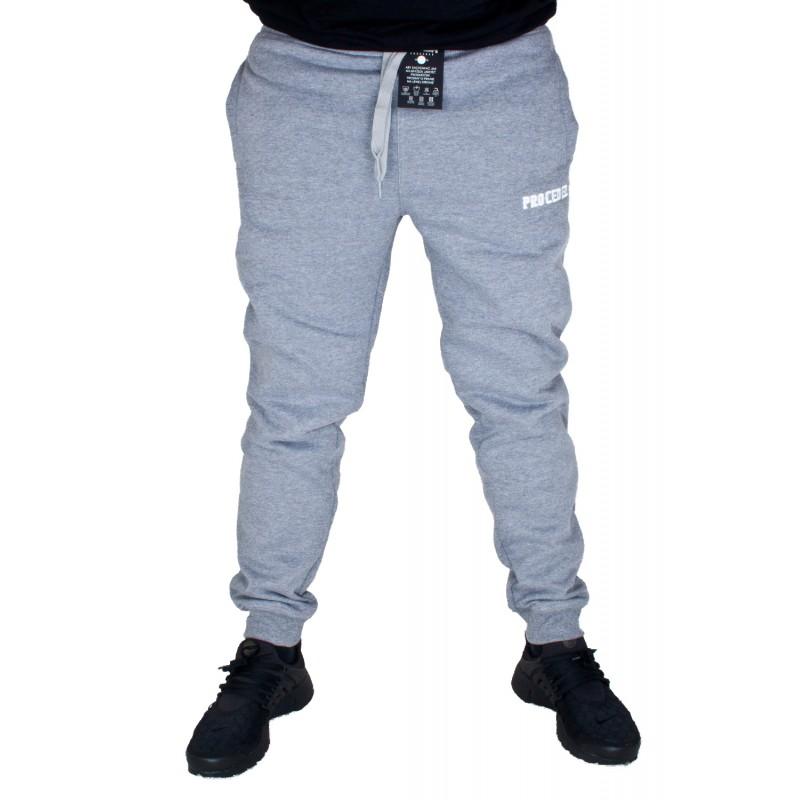SPODNIE DRESOWE CHADA PROCEDER PROCEDER17 SZARE Supreme sklep streetwear, hip hop shop oraz rapshop