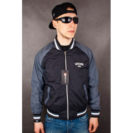 KURTKA WRUNG DIVISION MAJOR LEAGUE BLACK 3461